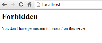 Permission Problem in Wamp Server