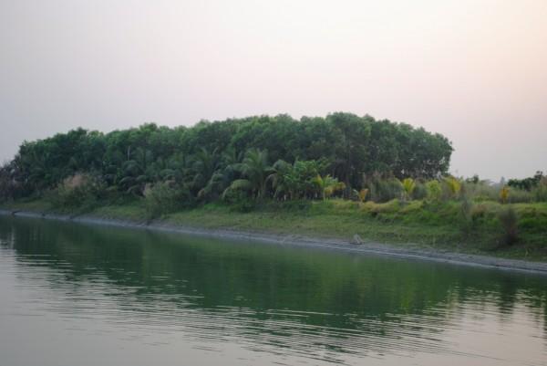 NSTU Pond Side View