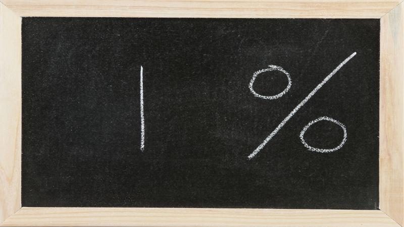 1 percent of improvement