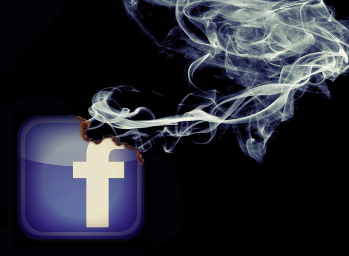 Facebook Digital cigarette